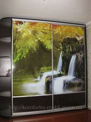 Шкаф-купе с зеркалом на заказ в Житомире,  Киеве и другая мебель