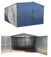 металевий гараж швидкозбірний різних розмірів