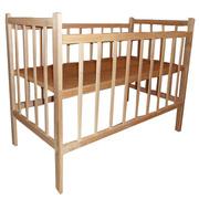 Недорогие деревянные детские кроватки Житомир,  цены 270 - 370 грн.