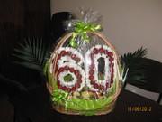 Корзины фруктово-конфетные