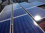 Электричество от солнца. Система электроснабжения на базе солнечных ба