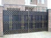 Кованые ворота на заказ в Житомире (Bent Iron)