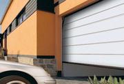 Ворота секционные,  автоматические гаражные ворота Алютех