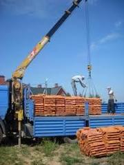 Перевозка кирпича,  бетонных плит по Житомиру и области
