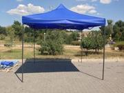 Шатры садовые 3х3 м,  шатер-гармошка для дачи и сада