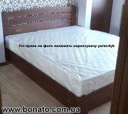 Деревянная кровать с подъёмным механизмом   матрас