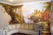 Панорамная живопись на стенах