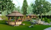 Ландшафтный дизайн,  благоустройство территории