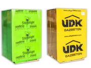 Газоблок,  газобетонные блоки Стоунлайт и UDK
