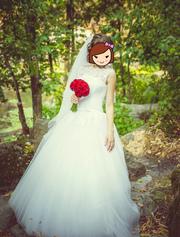 Свадебное платье для незабываемого дня