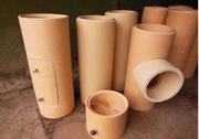 Труба керамічна димоходна