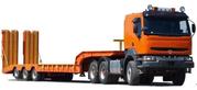 Грузоперевозки тралом до 100 тонн Житомир