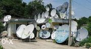 Установка и ремонт спутниковых антенн и Т2 .