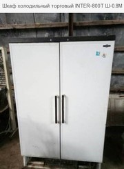 Шкаф холодильный торговый INTER-800Т Ш-0.8М