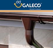 Металева система водостоку Galeco (120/135/150) (всі комплектуючі