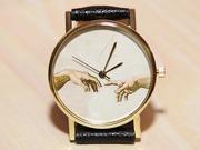 Часы микеланджело,  мужские часы,  женские часы,  часы руки