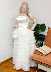 Продам красивое свадебное платье,  Житомир